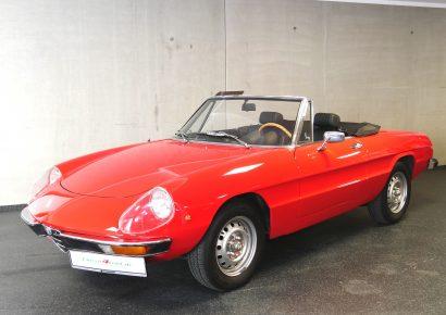 Alfa Spider Fastback mieten Wiesbaden